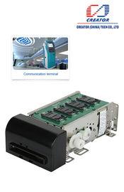 Leitor de cartão magnético motorizado para o quiosque, leitor da inserção de Smart Card com relação RS232
