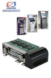Leitor de cartão ISO14443 motorizado RFID com relação RS232, leitor de cartão da listra magnética